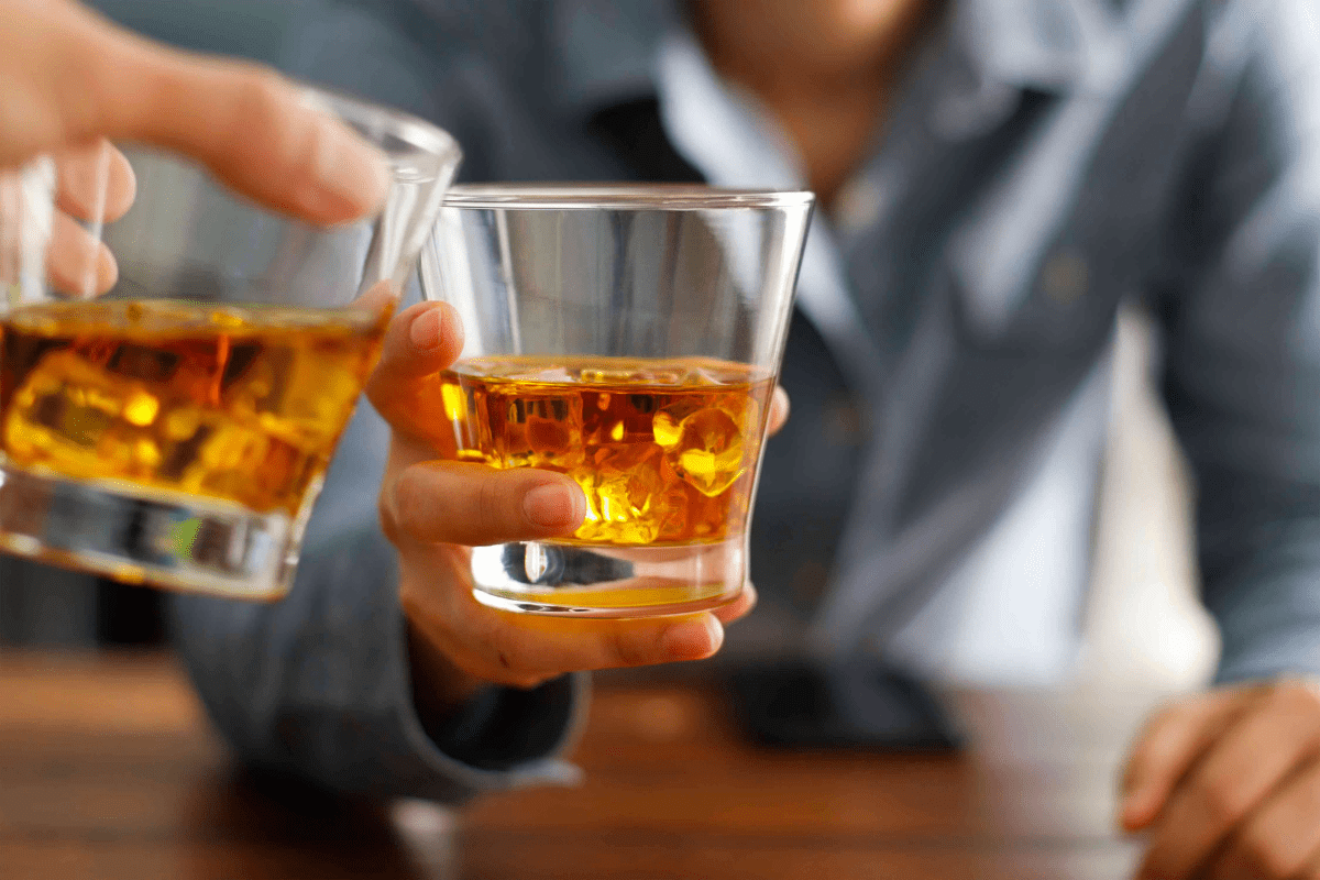 alcohol consumption has ceased